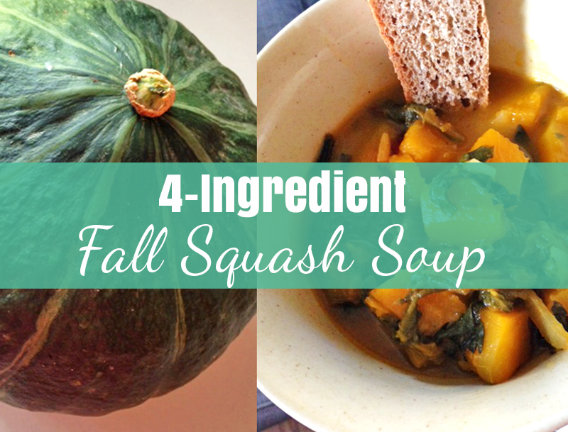 4-Ingredient Fall Squash Soup